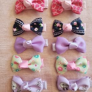 Other - 5-pair little girl clips